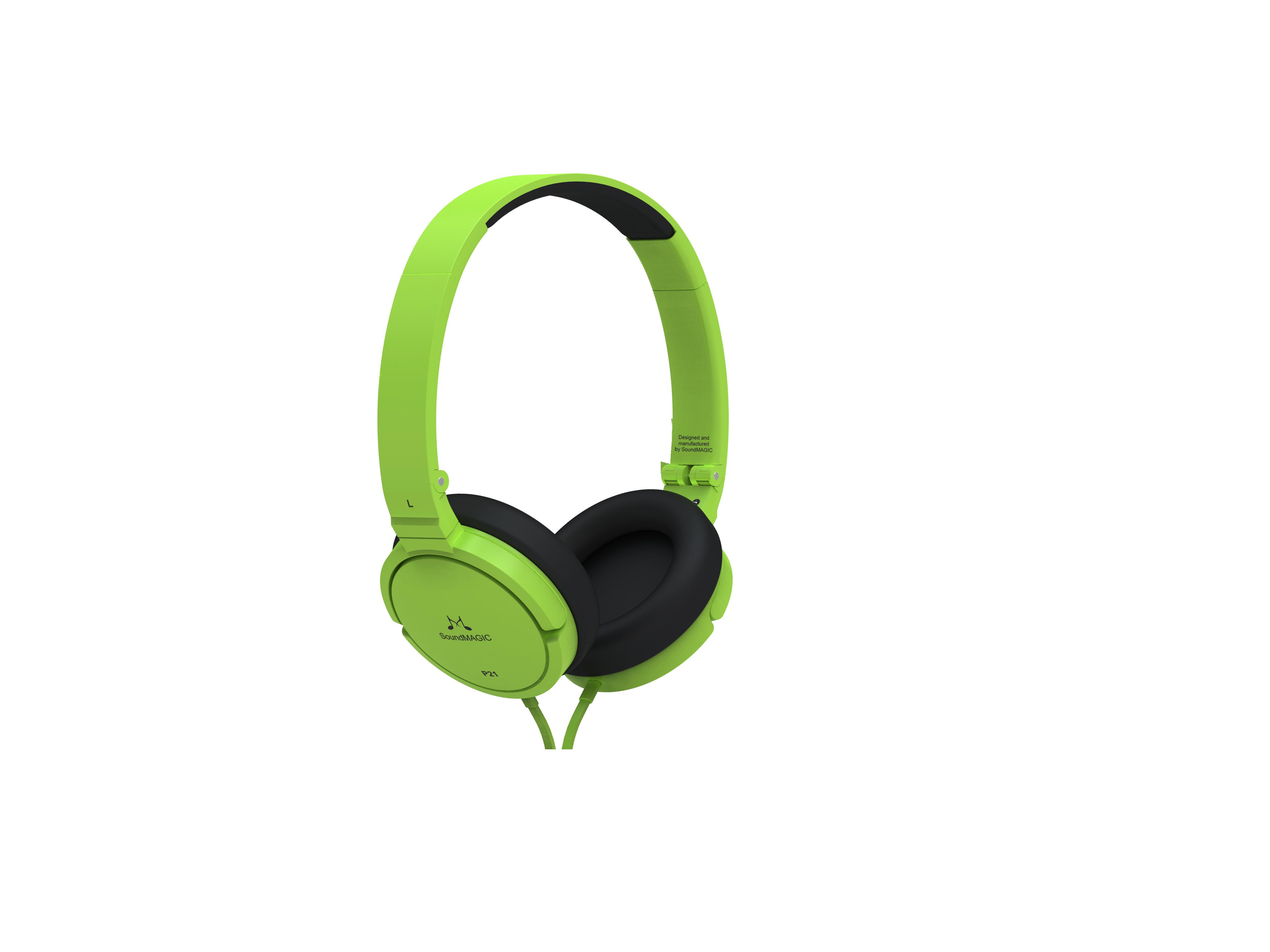 ขายหูฟัง SoundMagic P21 เฮดโฟนแบบพกพา แพดหนังใส่สบาย สายไม่พันกัน พับได้พกพาสะดวก