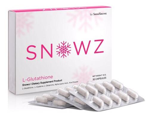 Snowz Gluta Seoul Secret สโนวซ์ กลูต้า คริส หอวัง อาหารเสริมผิวขาว
