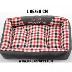 ที่นอนสุนัข Premium ลายสก็อตสีแดง (พร้อมส่ง)