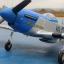 P51D Mustang Brushless moter VOLANTEX RC thumbnail 16
