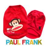 เสื้อกล้ามหมา Paul Frank สีแดง ไซส์ 2