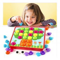 Button Nail เกมลับสมองเด็กเล็ก เกมจับคู่สี 2Y+