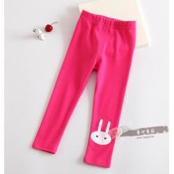 กางเกงเลกกิ้ง สีชมพูบานเย็น