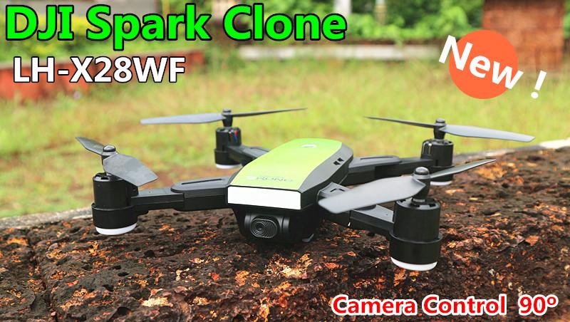 LH-X28 DJI Spark Clone+เซลฟี่โดรนรุ่นปรับกล้อง