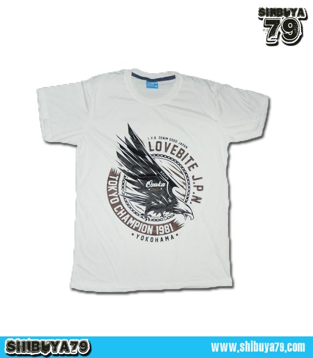 เสื้อยืดชาย Lovebite Size XL - Tokyo Champion 1981