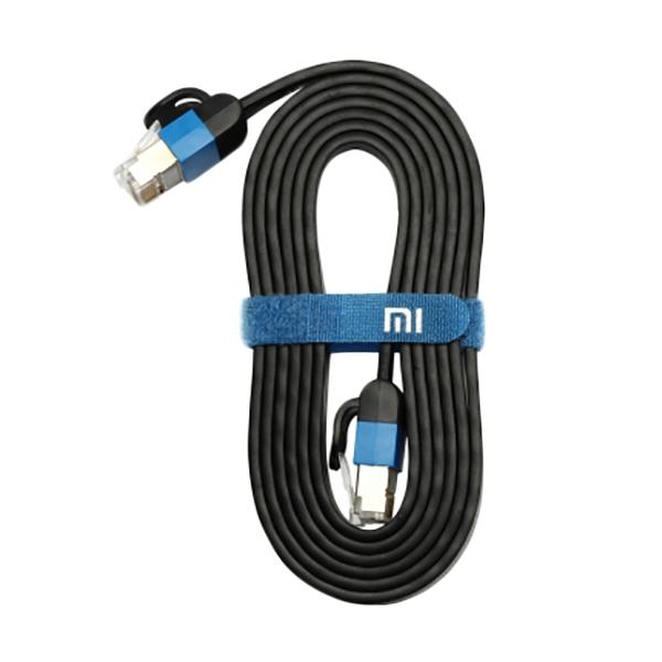 ขาย Xiaomi Ethernet Cable สายเคเบิ้ล Cat 6 RJ45 1000Mbps สายแบนเกรดพรีเมี่ยม ยาว 1M