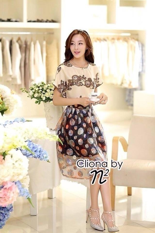 Cliona Made, European Silk Colour Ball Skirt Set