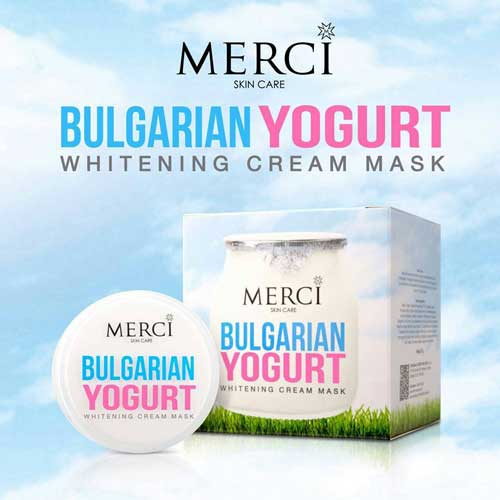erci Bulgarian Yogurt Whitening Cream Mask ครีมมาส์กบัลแกเรียโยเกริต์ สูตรพิเศษ