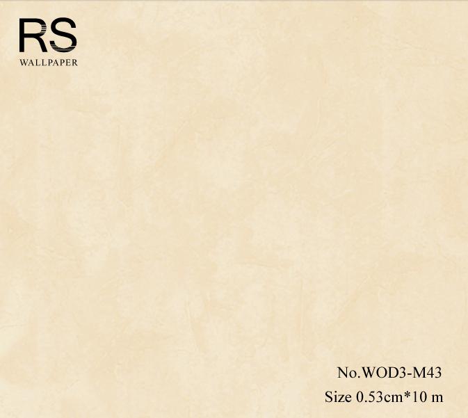 วอลเปเปอร์ลายปูนฉาบสีครีม WOD3-M43