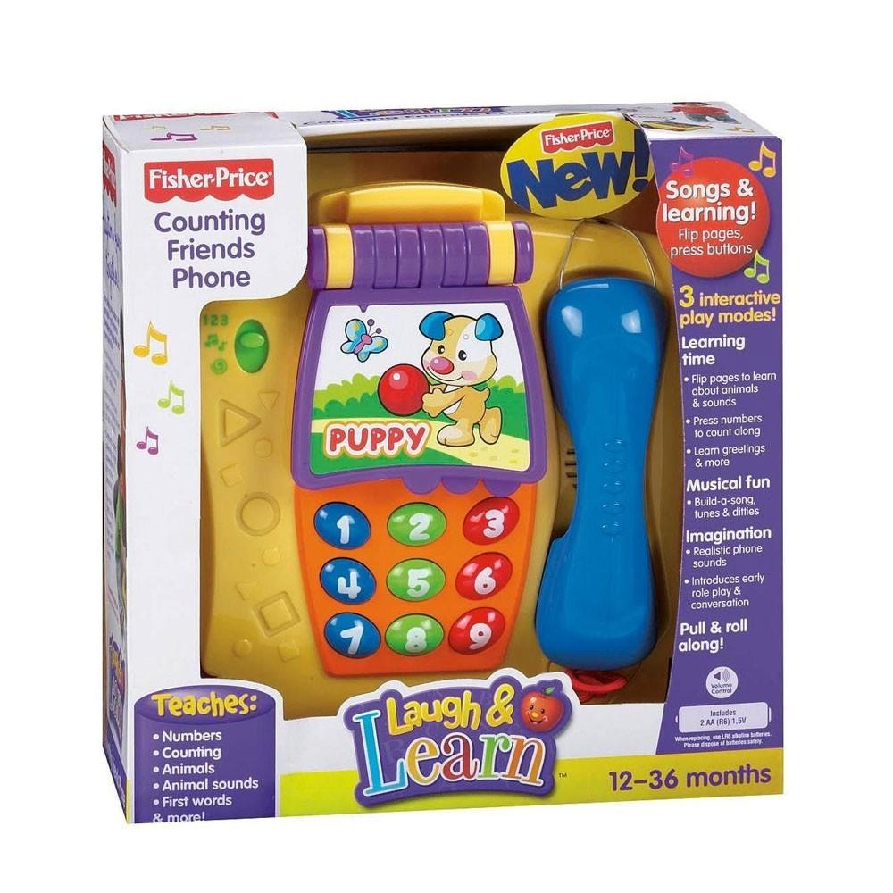 ชุดโทรศัพท์ Counting friend phone fisher price ของแท้ ส่งฟรี