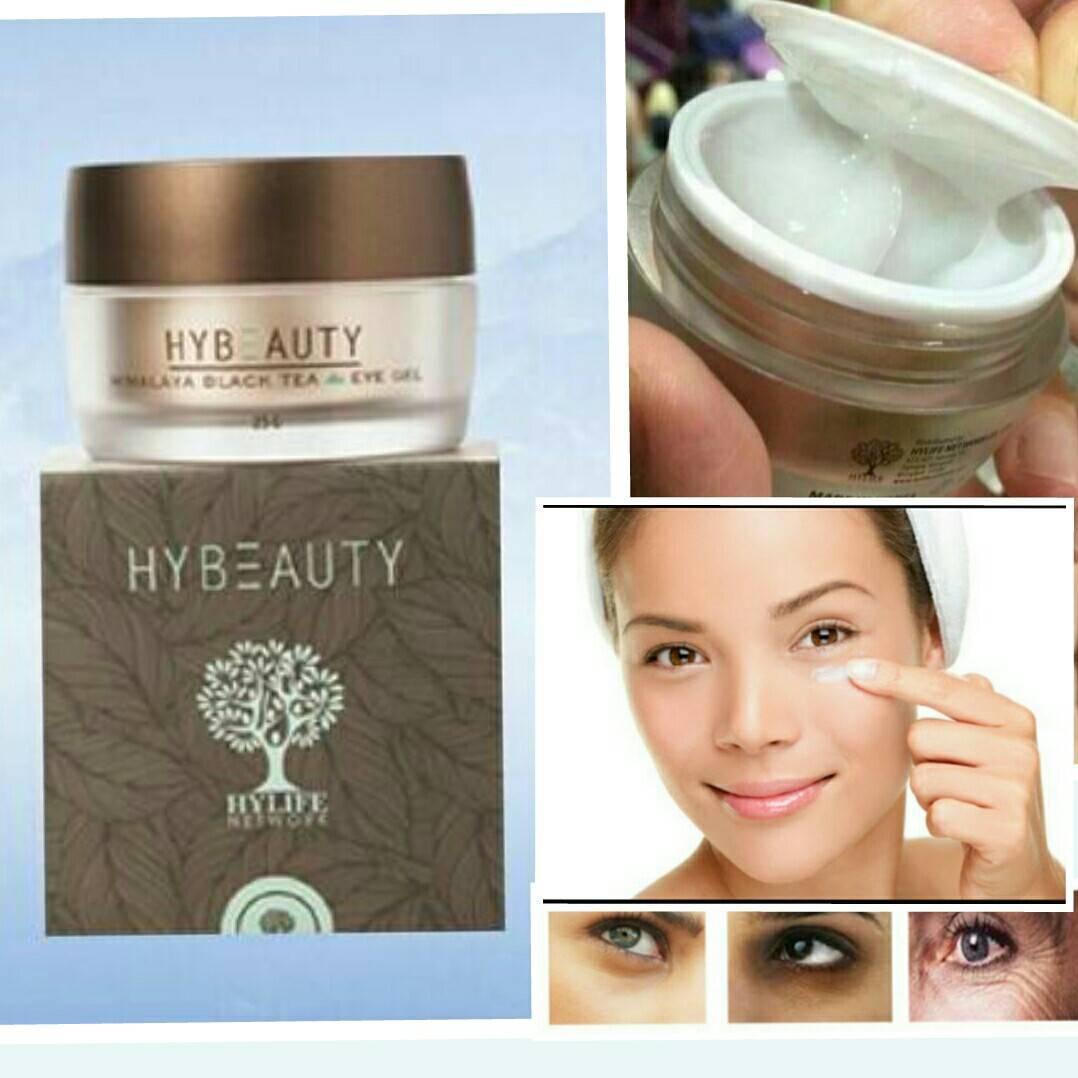 Hybeauty Himalaya Black Tea Eye Gel 25gm ไฮบิวตี้ หิมาลายา แบล็ค ที อายเจลเจล