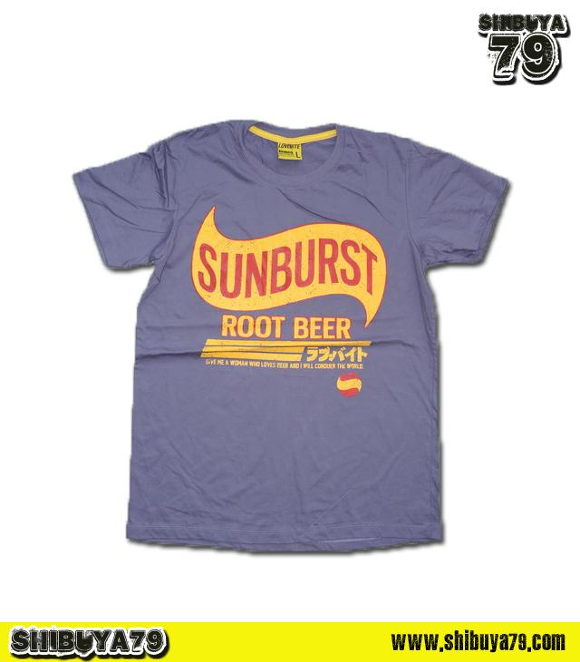 เสื้อยืดชาย Lovebite Size L - Sunburst