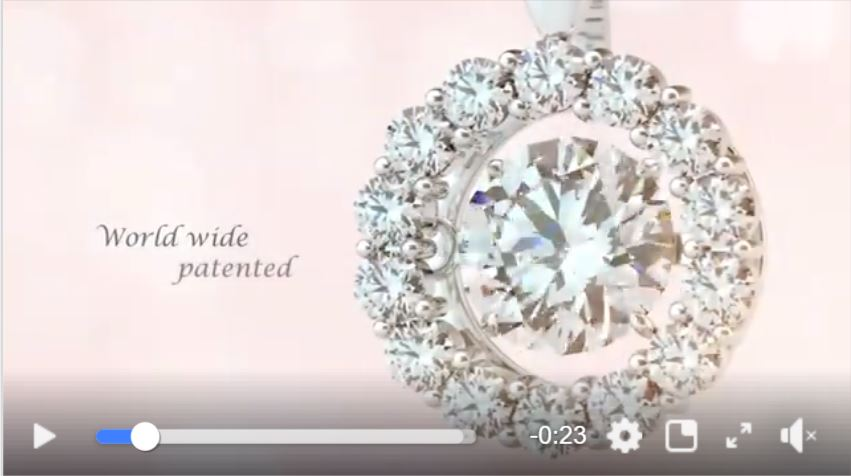 Vdo ล่าสุดของ Dancing Diamond เพชรดิ้นได้
