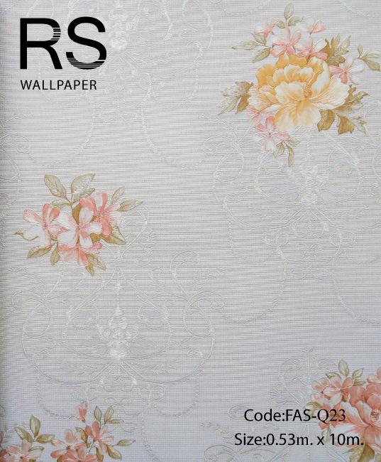 วอลเปเปอร์ลายดอกไม้ FAS-Q23
