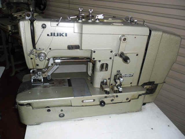 จักรถักรังกระดุม JUKI LH-781 / LH-780 (มือ2+ญี่ปุ่น)
