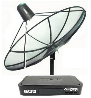 จานดาวเทียม IPM UP HD2 พร้อมติดตั้ง