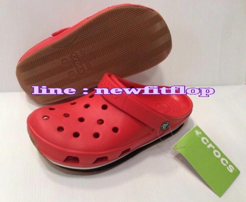 รองเท้า crocs retro clog รุ่นเรโทร สีแดง