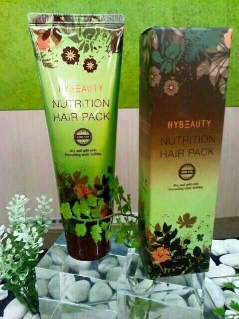 Nutrition Hair Pack นูทริชั่น แฮร์แพค เพื่อการฟื้นบำรุง