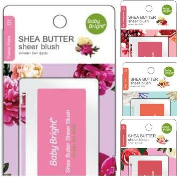 Baby bright shea butter sheer blush# เบบี้ไบร์ท เชียบัตเตอร์บรัช