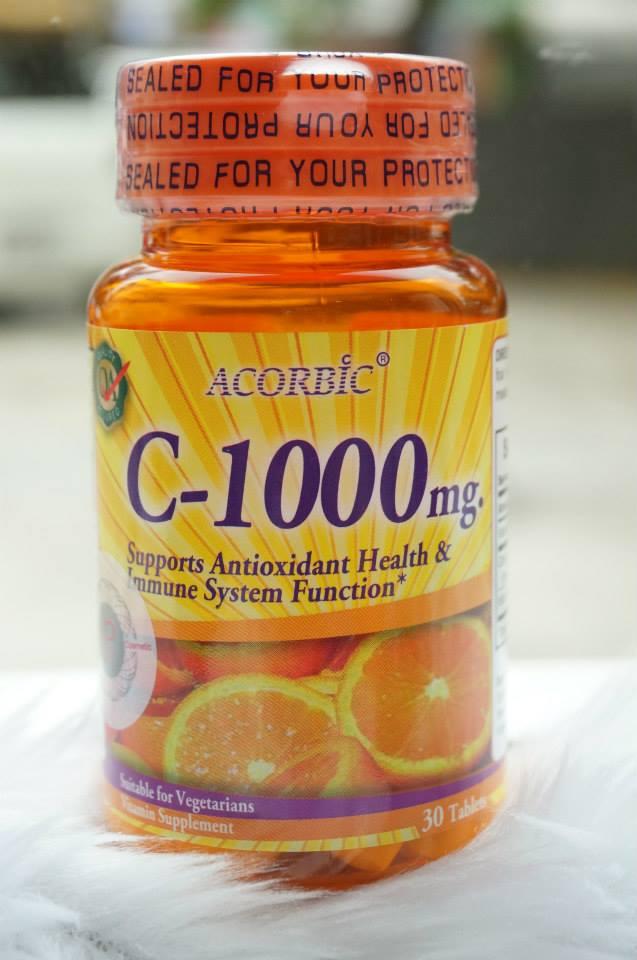 Acorbic C-1000 mg ราคาส่งพิเศษ วิตามินซี นำเข้าจากอเมริกา