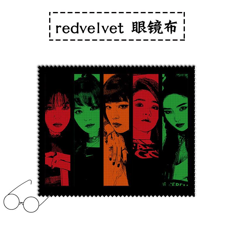 ผ้าเช็ดแว่นตา - Red Velvet เลือกแบบได้