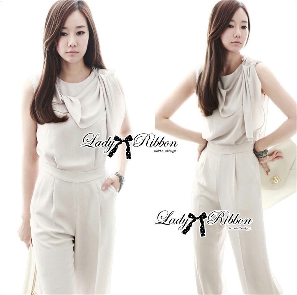 Lady Ribbon's Made Lady Lucie Elegant Minimal Chic Jumpsuit