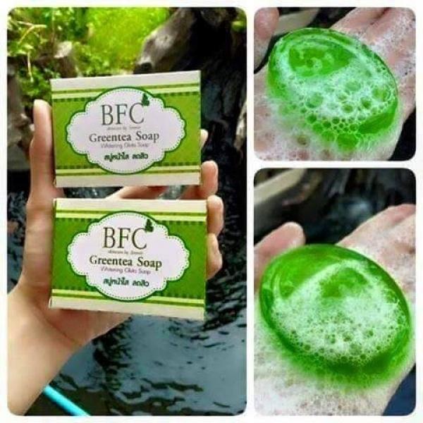 สบู่หน้าใส ชาเขียว BFC (BFC Greentea Soap)
