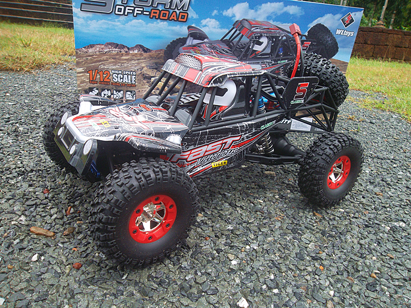 WL-12428-C 1/12 Rc car Hi-Speed 50 km/h A CROSS 4WD รีโมทดิจิตอล