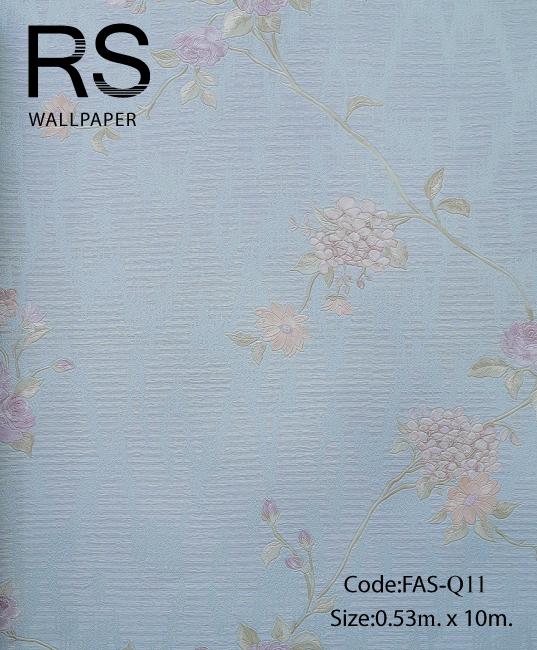 วอลเปเปอร์ลายดอกไม้ FAS-Q11