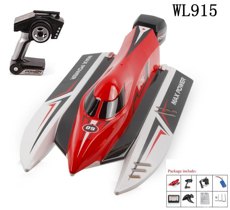 WL915 Brushless motor เรือบังคับความเร็วสูง