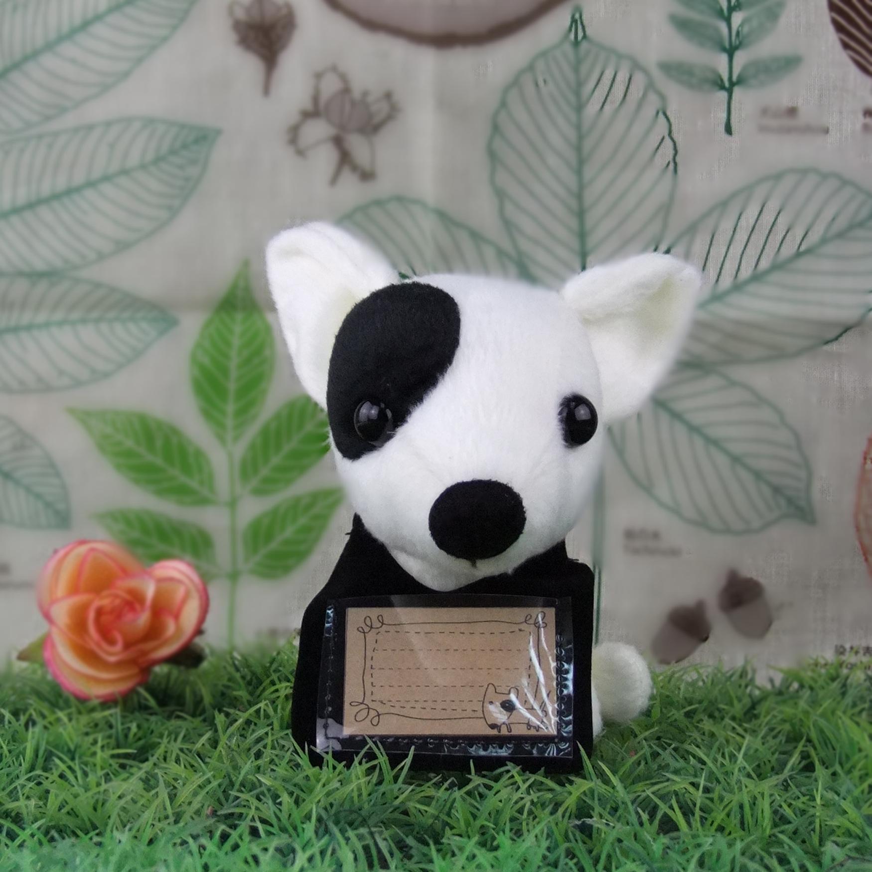 ITOOB Bull Terrier ตุ๊กตาไอ้ตูบ บูเทอเรีย
