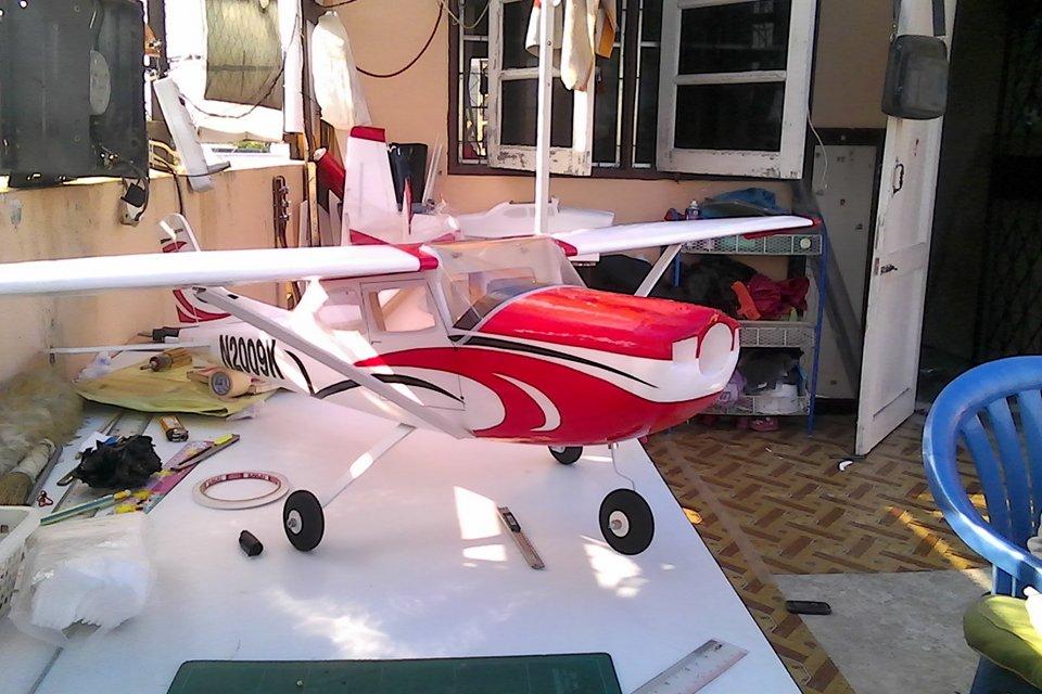 CESSNA 182 ปีก 1.3 เมตร (ลำตัวเครื่องบิน)