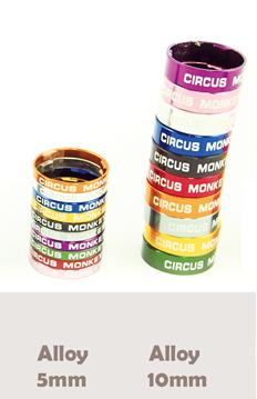 แหวนรองคออลูมิเนียม CIRCUS MONKEY