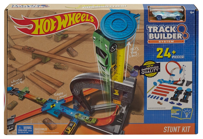 ถูกกว่าทุน 60% ของแท้ ส่งฟรี Hotwheel stunt kit