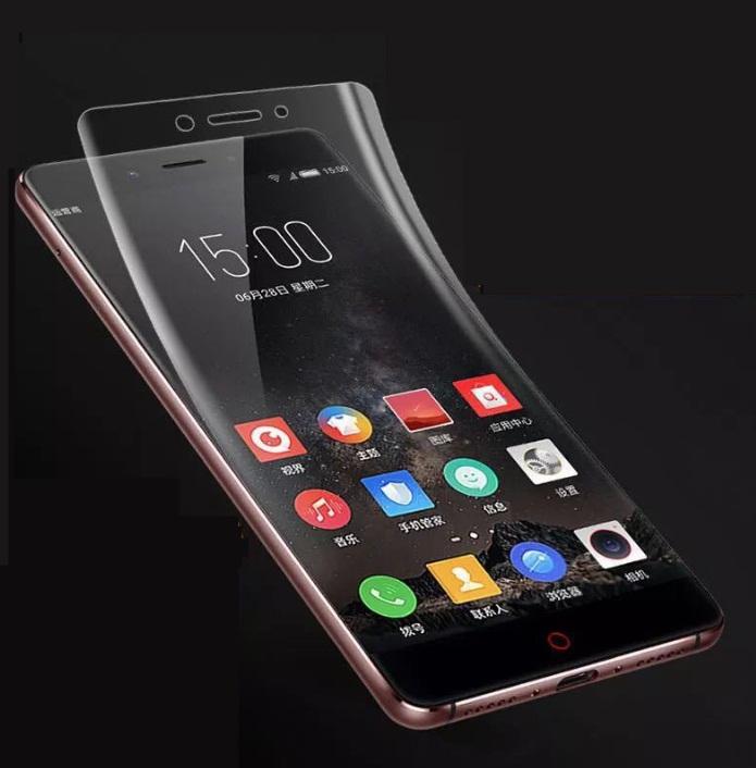 ฟีล์ม TPU Xiaomi Mi Max ลดรอยนิ้วมือ กันกระแทกหน้าจอ (เต็มจอตามรูป)
