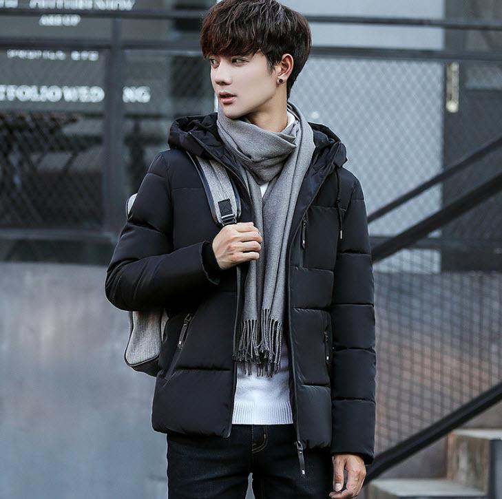 พร้อมส่ง เสื้อโค้ทผู้ชาย สีดำ มีฮูท 2ชั้น โค้ทกันหนาวผู้ชาย ใส่ลุยหิมะ ใส่กันหนาวได้ดี