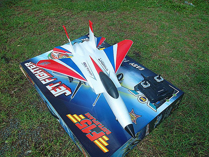 เครื่องบินบังคับ F-15E tunder bird