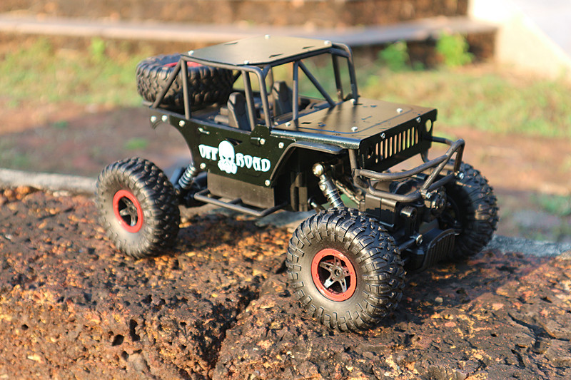 ROCK CLIMBERS 4x4 off road 1:16 scale jeep