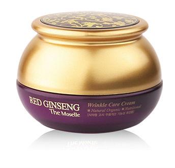 Bergamo RED GINSENG Wrinkle Care Cream สูตรโสมแดง