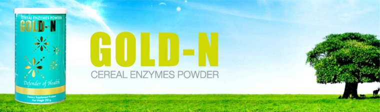 Enzyme ธัญพืช Gold - N บริษัท PGP GOLD STAR