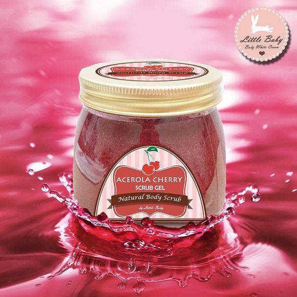 Acerola Cherry Scrub Gel สครับอะเซโรล่าเชอร์รี่