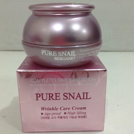 The Moselle Pure Snail Wrinkle Care Cream 50 g