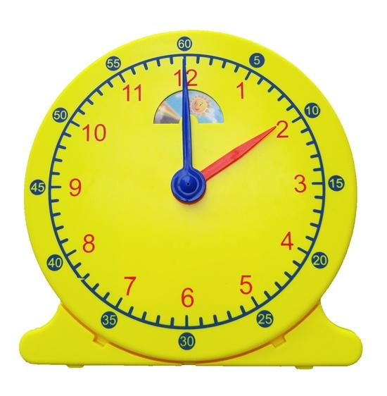 นาฬิกาจำลอง สอนเวลา