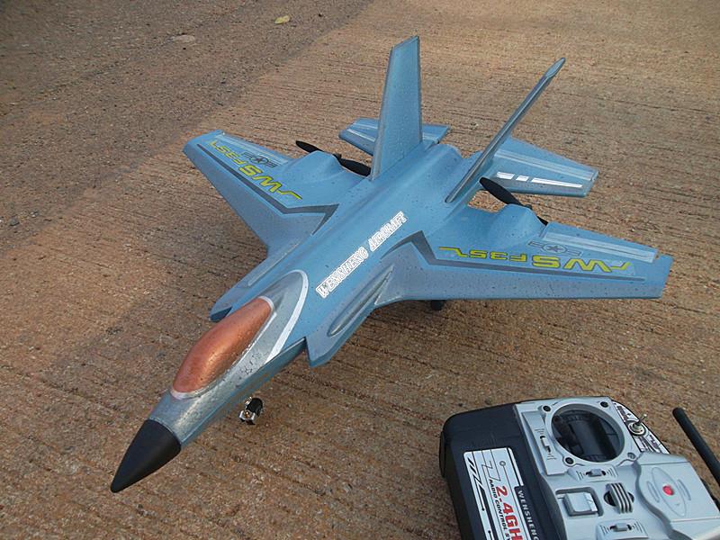 F-35a lightning เครื่องบินบังคับความเร็วสูง 4 ch