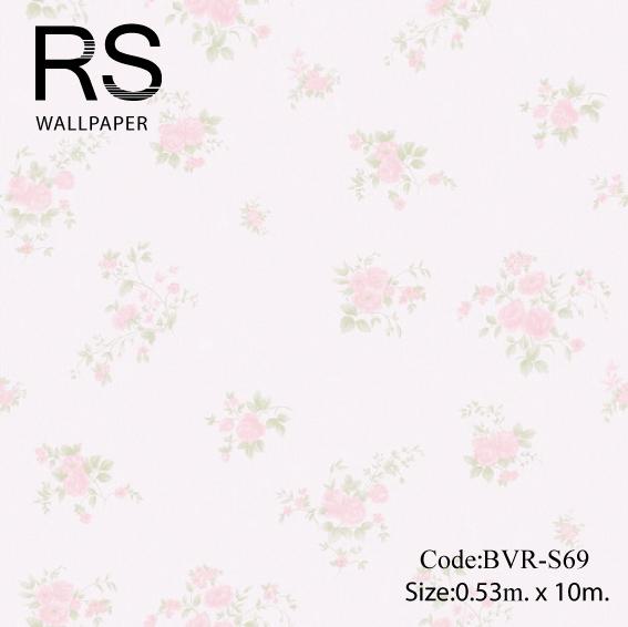 วอลเปเปอร์ลายดอกไม้ BVR-S69