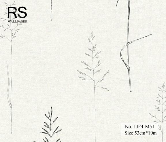 วอลเปเปอร์ยุโรป ลายต้นไม้ No.LIF4-M51