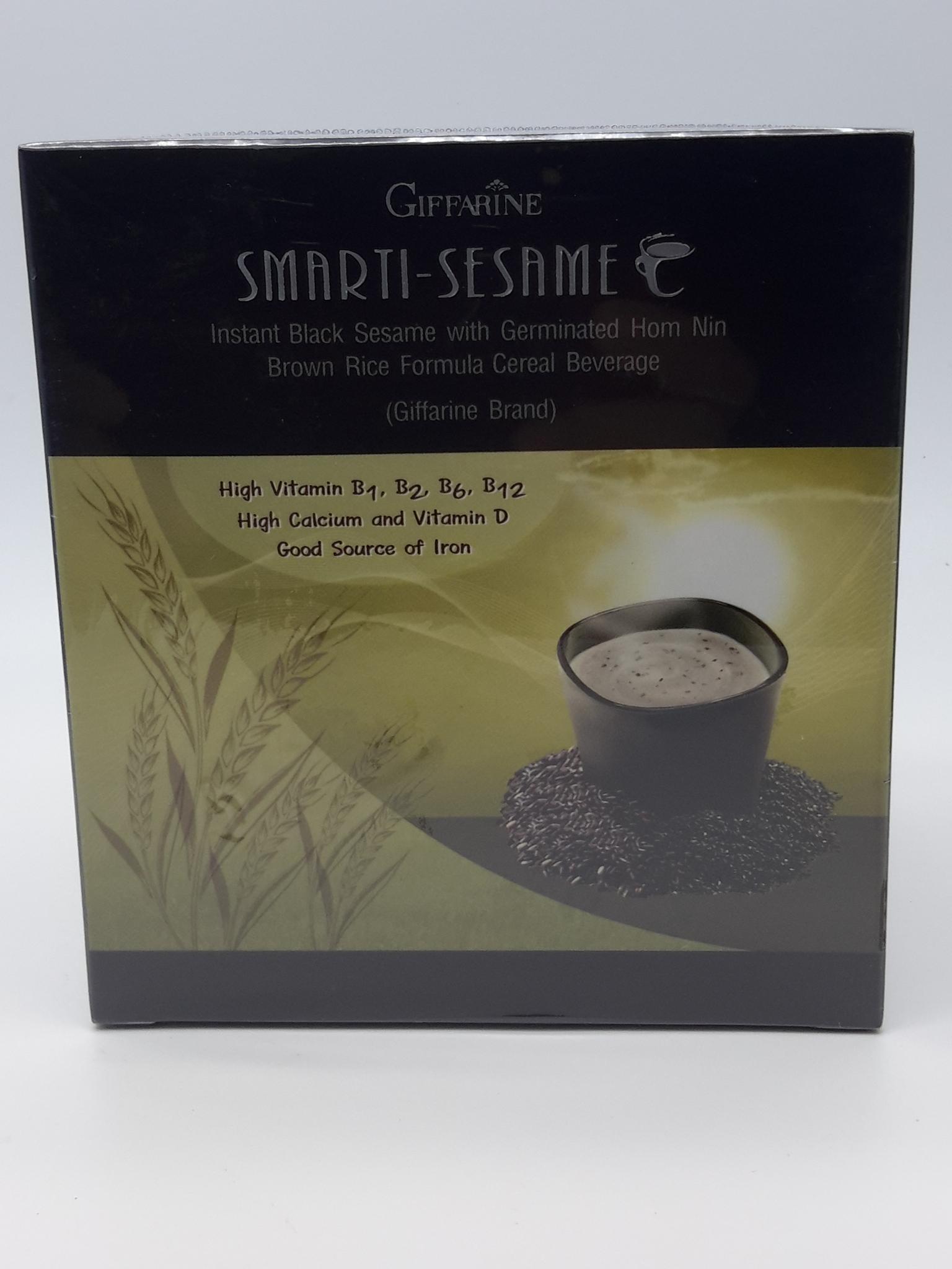เครื่งดืมธัญญาหารสำเร็จรูปสูตรงาดำผสมข้าวกล้องหอมนิลงอก ( 27 กรัม × 10 ซอง)