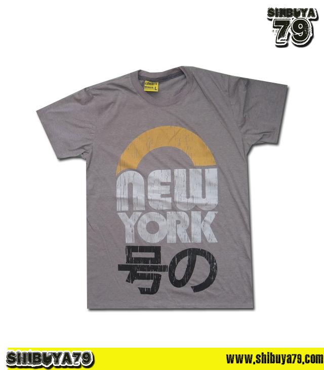 เสื้อยืดชาย Lovebite Size L - New York