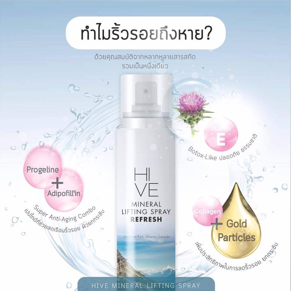 Hive Mineral Lifting Spray
