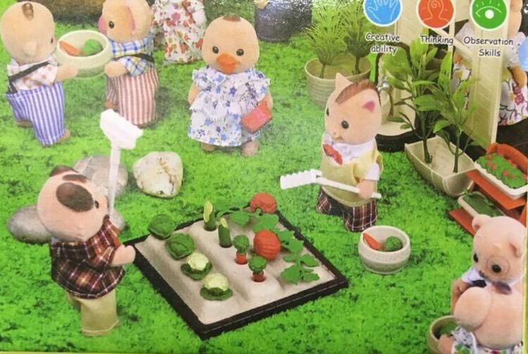 เฟอร์นิเจอร์บ้านตุ๊กตากระต่าย 011ส่งฟรี